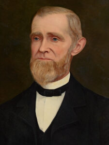 Portrait of H.W. Crabb, 1890. Courtesy of California Historical Society.