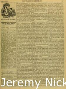 1883-06-29 Crabb is listed as one of several references for J. L. Heald's Agricultural Works