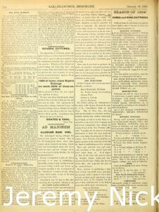 1884-01-18 Advertisement by Charles A. Wetmore