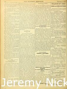 1884-02-01 Advertisement by Charles A. Wetmore