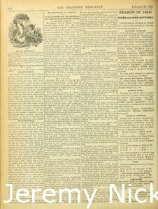 1884-02-29 Advertisement by Charles A. Wetmore