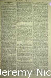 1894-01-27 Small article about Crabb's auction