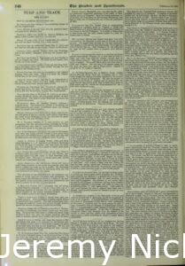 1895-02-16 Reporting on Crabb's yearling colt, Sandow