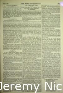 1895-03-16 Article about the stallion Dictatus