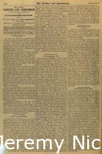 1898-02-12 Article about the success and health of the trotting horse industry in California