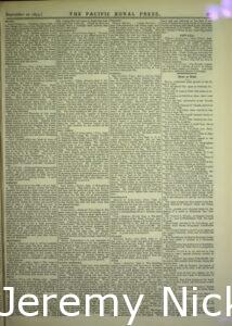 1879-09-13 Reprint from the St. Helena Star