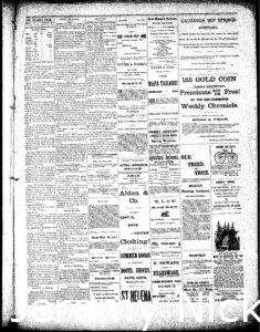 Newspaper article discussing how H.W. Crabb tore down his old wine cellar and is planning a large addition - 2
