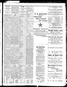 Newspaper article discussing the vineyard and cellars of H.W. Crabb at Oakville