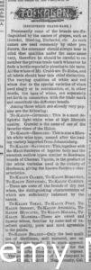 Newspaper article discussing various wines that H.W. Crabb at To Kalon produces